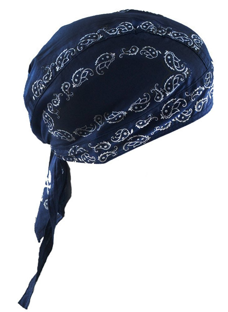 Cotton Bandana-Deep Blue