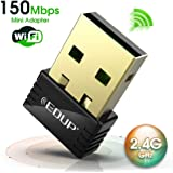 EDUP Usb WiFi Adapter 150Mbps Wireless  Dongle for Windows Mac Plug it and Forget it (FBA_EP-N8553)