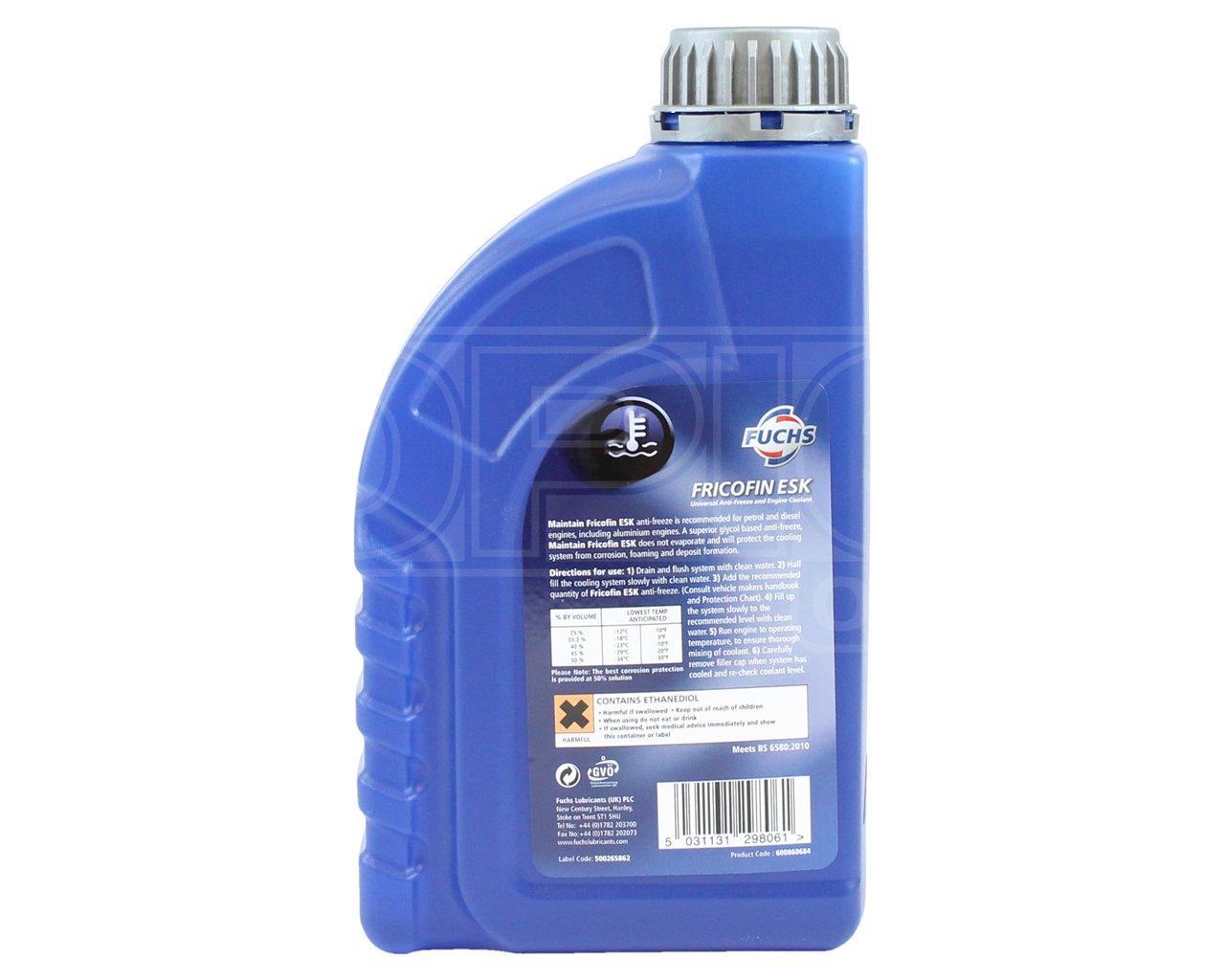 Fuchs mantener fricofin Esk Universal anticongelante/líquido ...