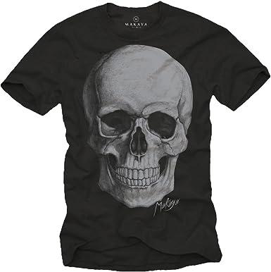 t-shirt tête de mort homme 12
