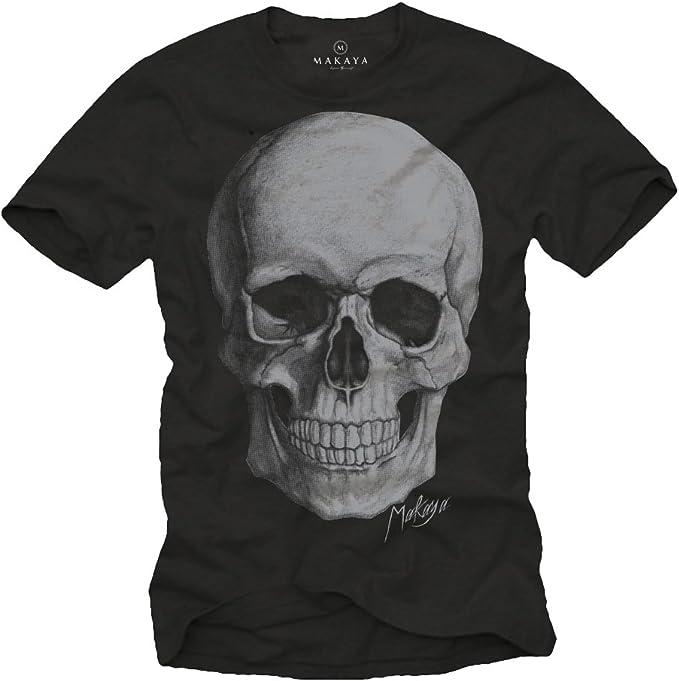 Acheter t-shirt homme tete de mort online 9