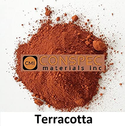 Conspec 1 Lbs. TERRACOTTA Powdered Color for Concrete, Cement ...