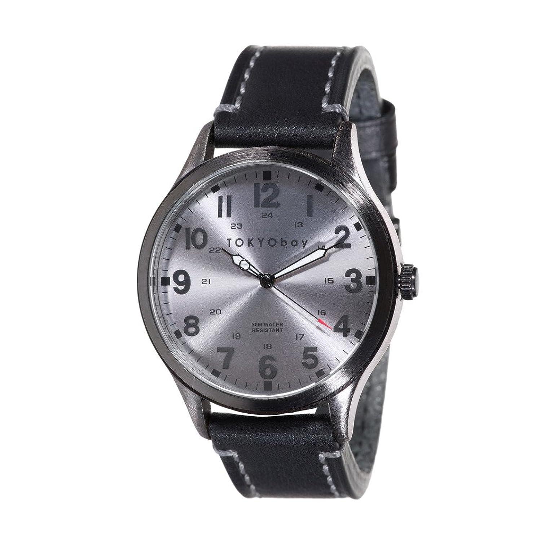 TokyoBay Mason Uhr - Grau-Schwarz