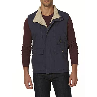 fa93cd7dbed Image Unavailable. Image not available for. Color  Outdoor Life Men s  Utility Vest Navy Size Large