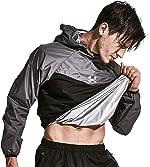 HOTSUIT Sauna Suit Men Weight Loss Jacket Pant Gym Workout Sweat