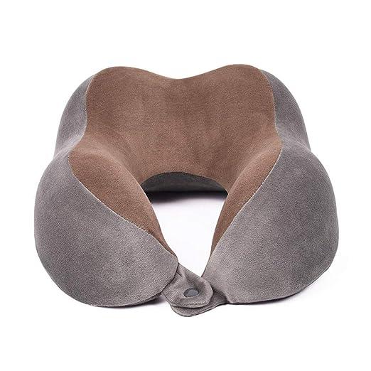 Almohada en forma de U Cuello de viaje Cojín Vértebra ...