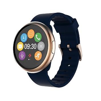 "MyKronoz ZeRound2 1.22"" TFT Azul, Oro Rosado Reloj Inteligente - Relojes Inteligentes (3"