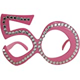 Creative Birthday Party Glasses 50th Birthday - Pink