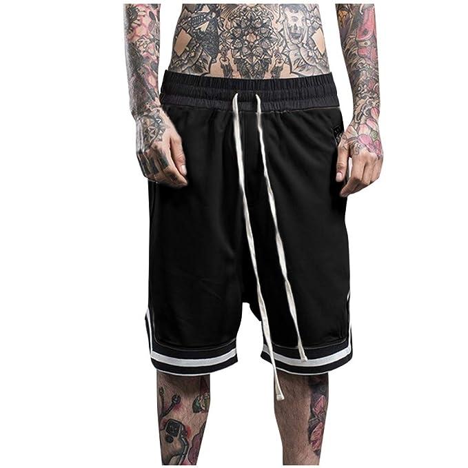 Pantalón De Chándal Casuales Hombre Jogger Pantalones Deportivos ...