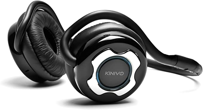 Amazon Com Kinivo Bth220 Bluetooth Stereo Headphone Supports Wireless Music Streaming And Hands Free Calling