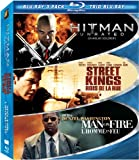 Hard Action 3-Pack: Hitman / Street Kings / Man on Fire [Blu-ray] [Blu-ray]