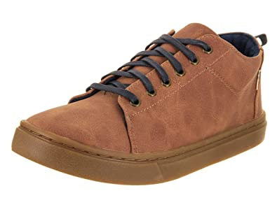 bb7ae7ba250 TOMS Youth Lenny Mid Synthetic Suede Sneaker