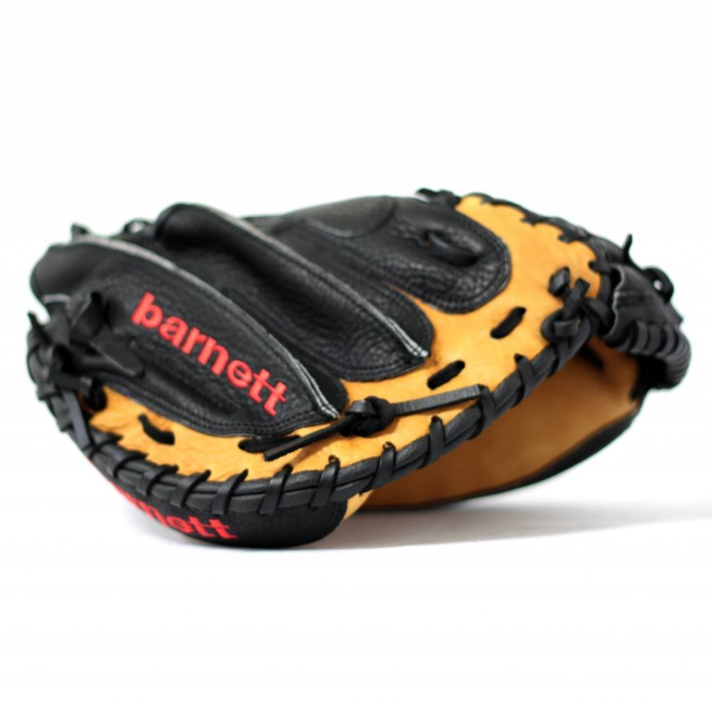 adult 34 leather GL-202 competition catcher baseball glove brown