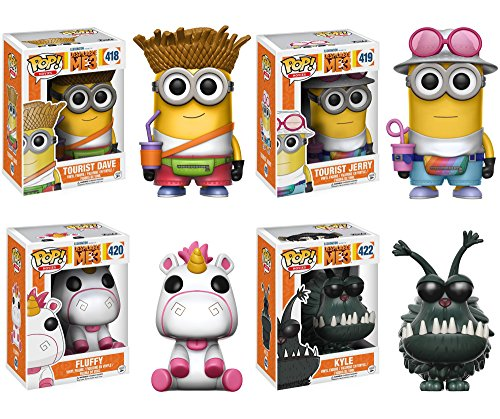 Funko Movies: Pop Despicable Me 3 Collectors Set