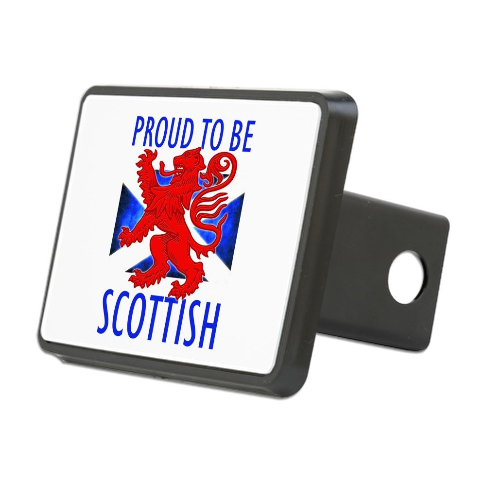 CafePress - Proud to Be Scottish Hitch Cover - Trailer Hitch Cover, Truck Receiver Hitch Plug Insert
