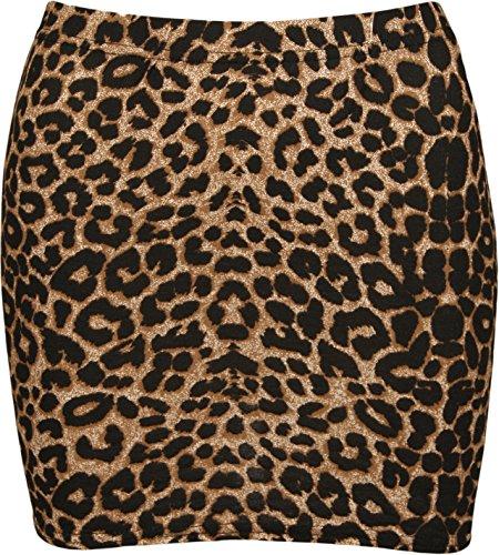 Leopard Print Mini Skirt - 2