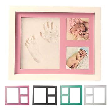 Amazon Premium Baby Handprint Footprint Picture Frame Kit