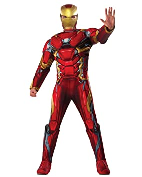 Horror-Shop Iron Man Traje de impresión en 3D Standard: Amazon.es ...