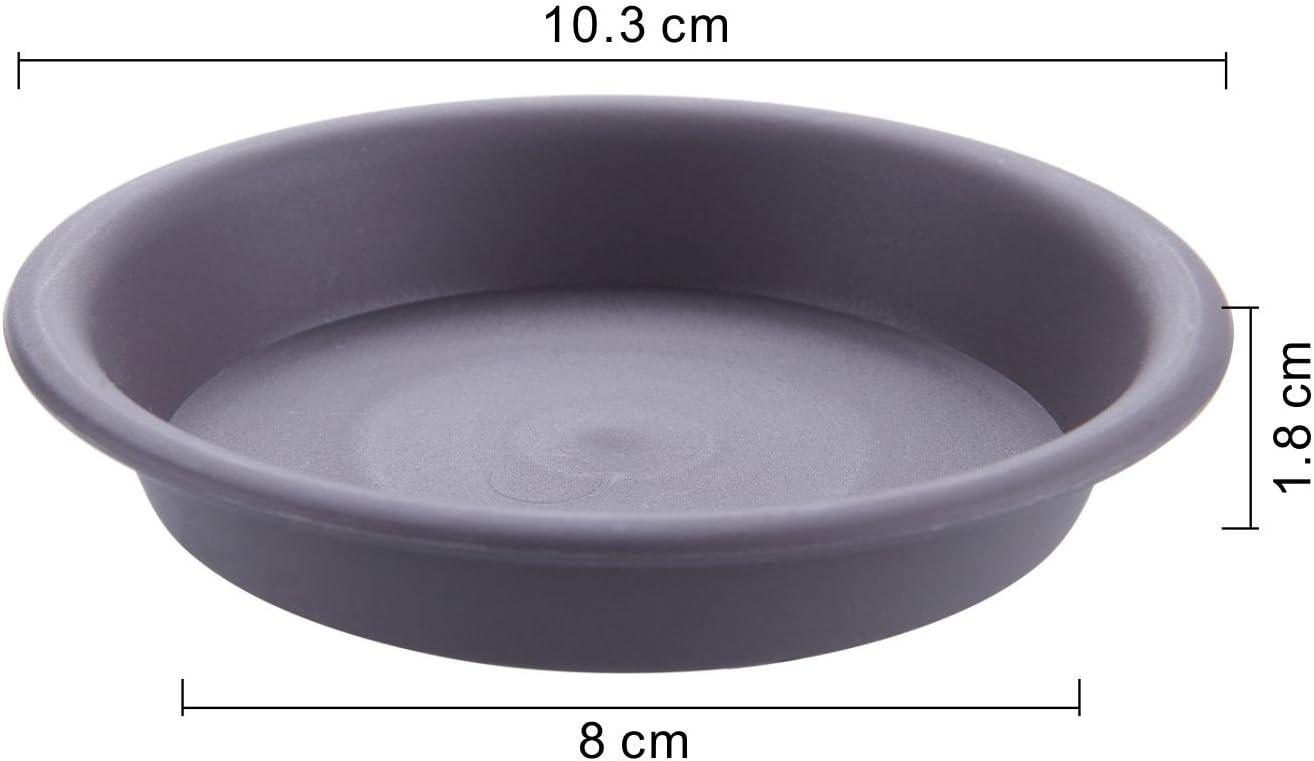 Lot de trois 25 cm diamètre plastique soucoupes for Plant Pots