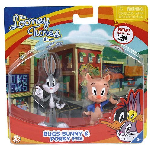 The Looney Tunes Show Figures, Bugs Bunny and Porky Pig, 2-Pack