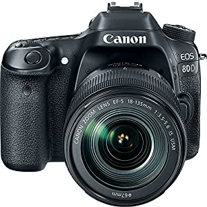 Canon USA EOS 80D 18-135 IS USM Kit