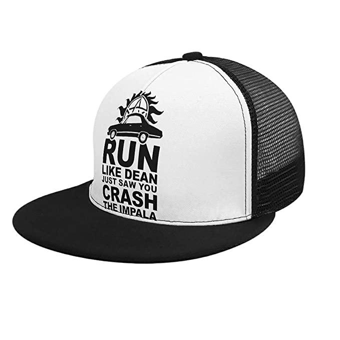 RNGIAN Run Like Dean Just Saw You Crash The Impala - Gorra de ...