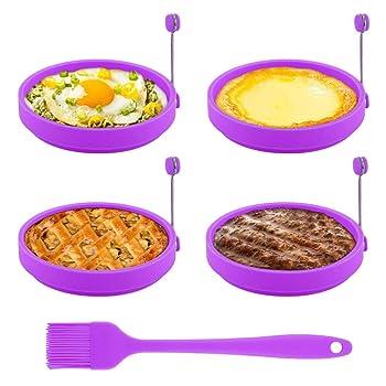 TGJOR Purple With Oil Brush Egg Rings
