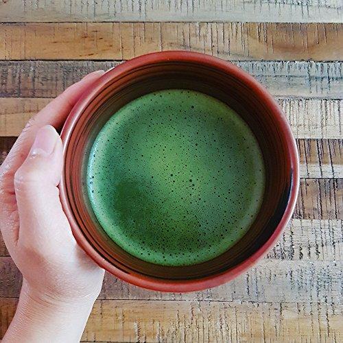 Organic Ceremonial Matcha - Emerald Class - Chef's Choice Quality Japanese Matcha Powder, Kosher, USDA (100g) by Midori Spring (Image #3)