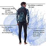 Rash Guard for Men Women Lycra Full Body Diving