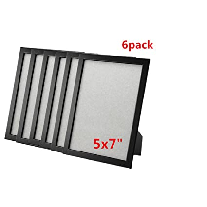 Ikea Frame Photo Picture 5 X 7 Black (6 Pack)