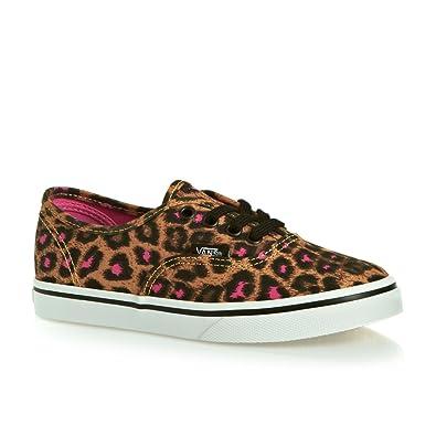 78f820071a6aa Vans Authentic Lo Pro Skate Shoes - Leopard black magenta  Amazon.co ...