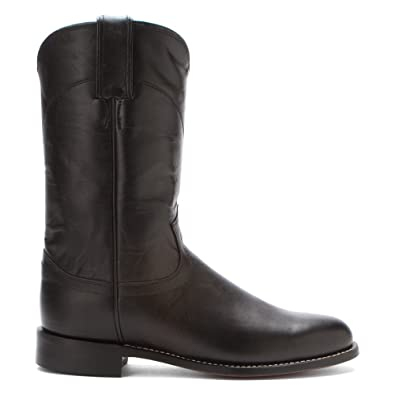 a29d685728e Amazon.com: Justin Boots Women's L3703 10-Inch Black Kipskin 10 A: Shoes