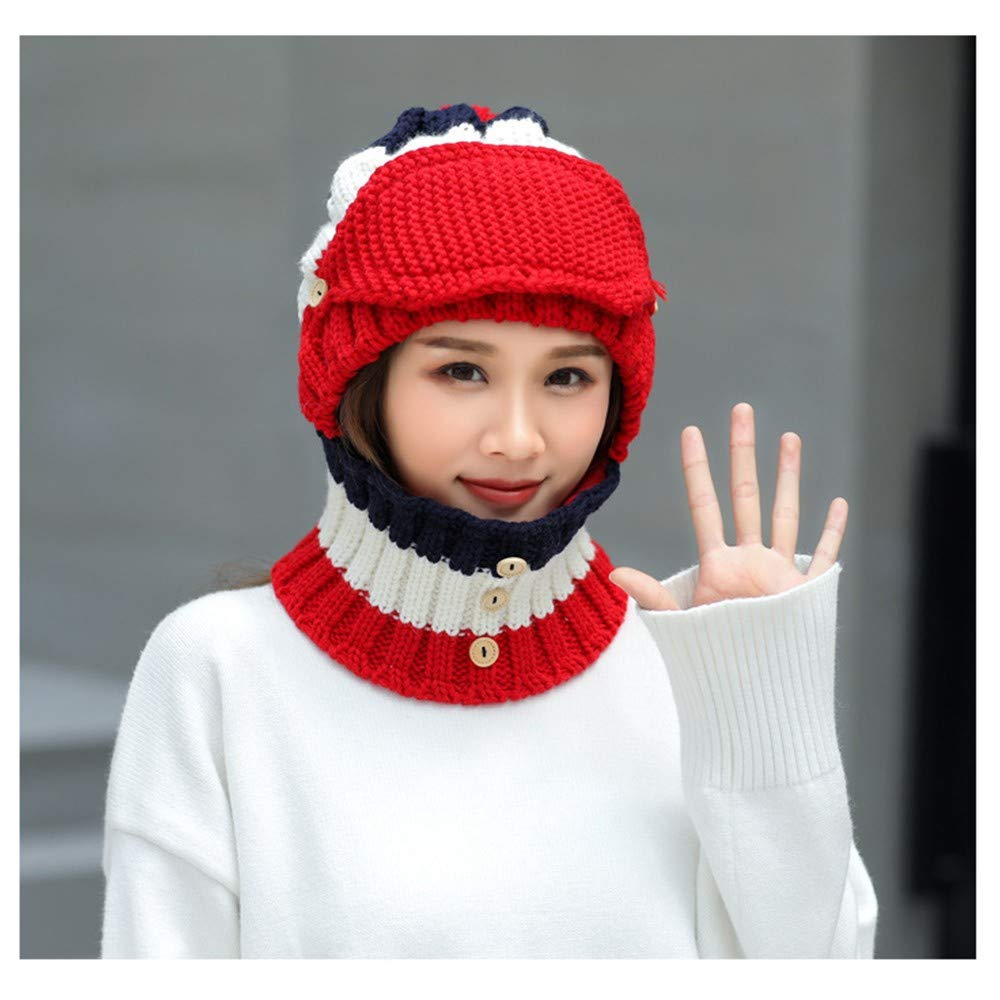 Amazon Boho Yoga Knitted Slouch Baggy Fit Beanie Hat Neck Tube Scarf Snood Hood