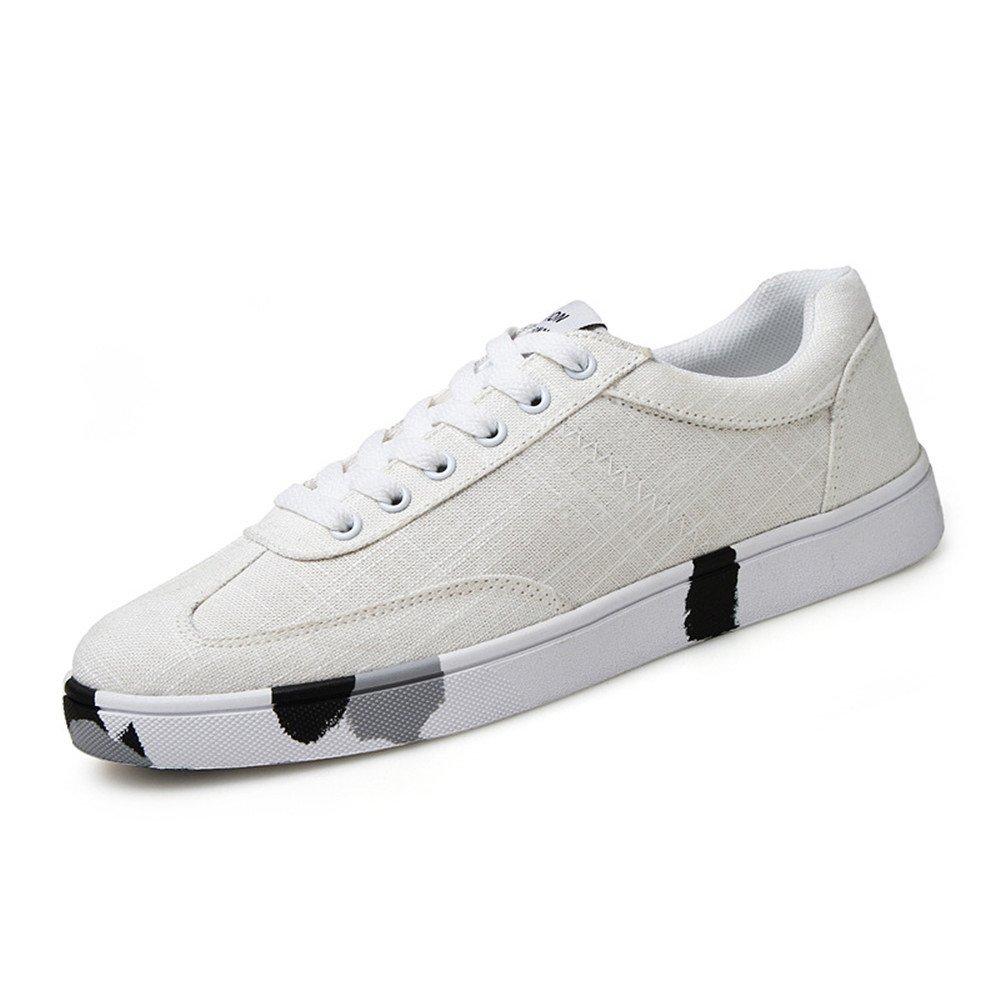 Männer - schuhe leinwand schuhe mode freizeit männer schuhe spitzen gummi - schuhe,weiße,42