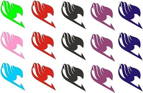 extree Fairy Tail Guild papel desechable cuerpo tatuaje, temporal ...
