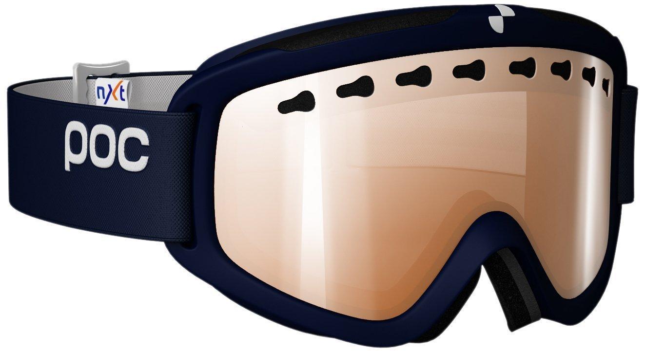 POC Goggles PC411119066MED1 Dark blue Iris Goggles Lens Category 3 Lens Mirrore