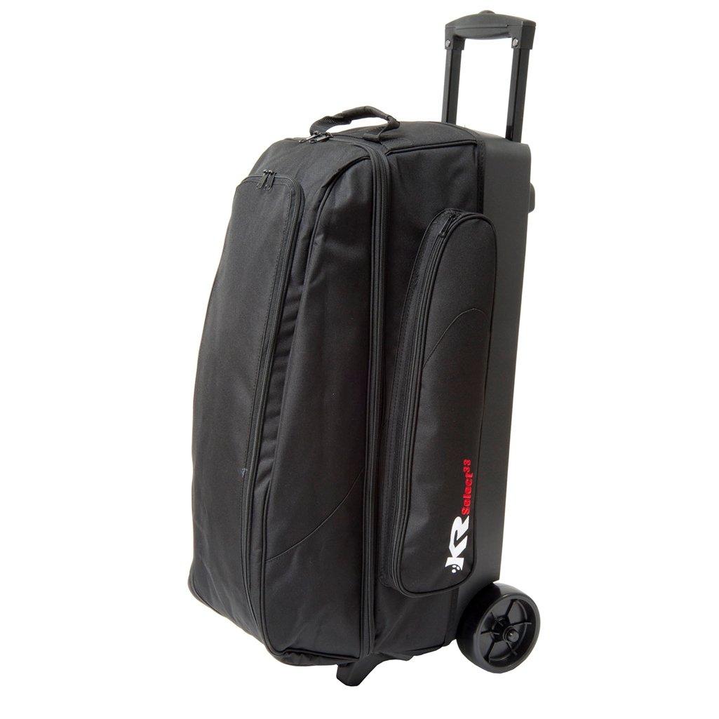 KR Select Triple Roller Bowling Bag- Black