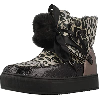 CAFèNOIR Damen Stiefeletten JFB923 527 Animal 556314  Amazon.de ... 13a10bca11