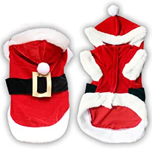 Christmas Dog Clothes for Dogs Chihuahua Winter Dog Christmas Costume Pet Clothes Warm Pet Cat Hoodie Coat Clothing