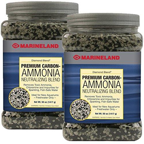 Odor Neutralizing Crystals - Marineland Diamond Blend Ammonia Neutralizing Carbon (100 Oz)