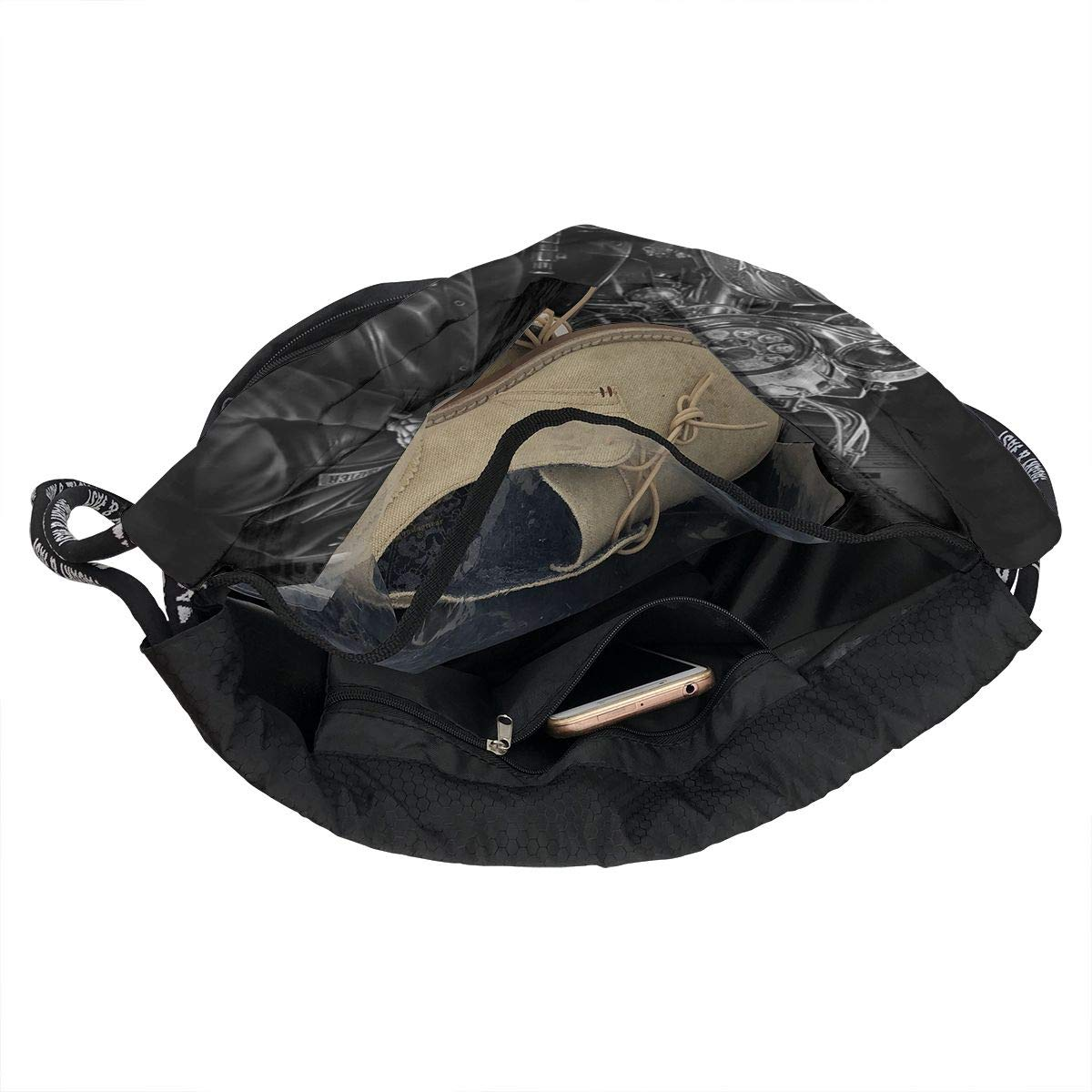 Ride Or Die Biker And Motocycle Multifunctional Bundle Backpack Shoulder Bag For Men And Women