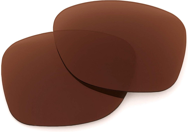 Revant Verres de Rechange pour Oakley Catalyst - Compatibles avec les Lunettes de Soleil Oakley Catalyst Marron Foncé - Polarisés Elite