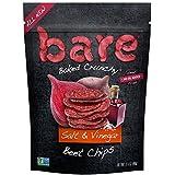 Bare Gluten Free Baked Crunchy Beet Chips, Salt & Vinegar, 8 Count