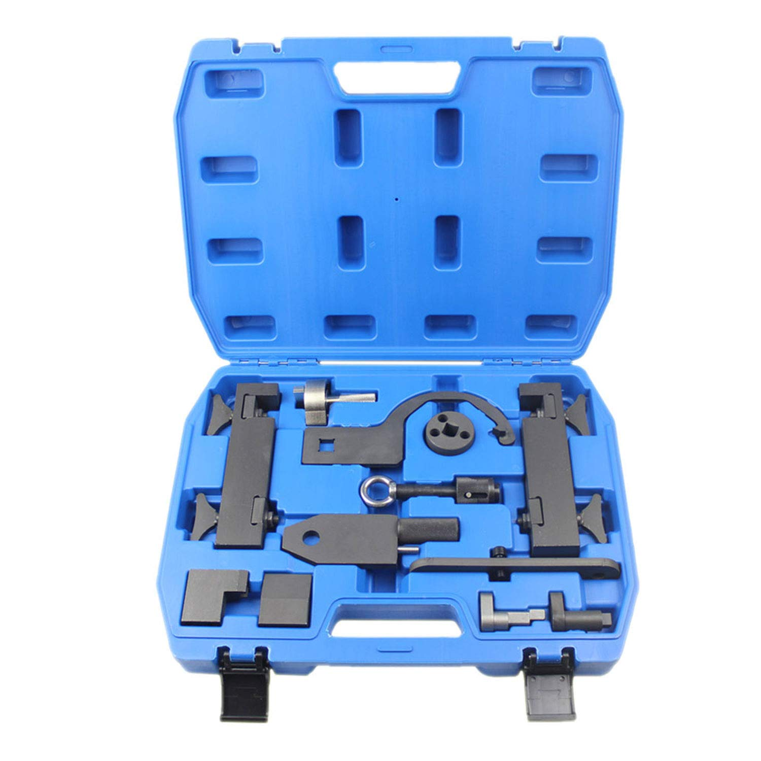 Camshaft Alignment Tool Kit for Land Rover Jaguar Discovry 4 Rang Rover Sport V8 5.0 L Engine Timing Tool with Fuel Pump/Injector Tool Whole Set