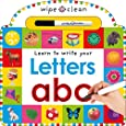 Wipe Clean: Letters (Wipe Clean Learning Books)