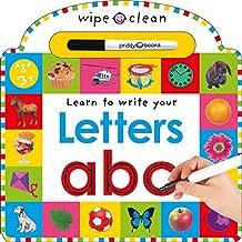 Wipe Clean: Letters (Wipe Clean Learning Books)