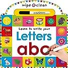 Wipe Clean: Letters (Wipe Clean Lea...
