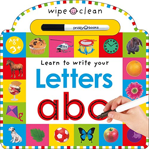 Wipe Clean: Letters (Wipe Clean Learning Books) (Kids Learning Toys)
