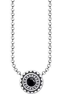 2ec700432 Thomas Sabo Women's 925 Sterling Silver Black Glam and Soul Ethno ...