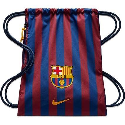 33f4a124b1 Nike FC Polyester FCB Soccer Gym Bag (Blue)  Amazon.in  Bags ...